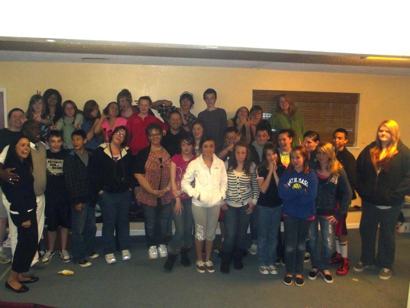 Middle School Big Group 2012 Belfair